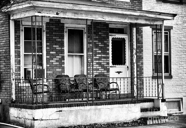 Living In Lambertville Print featuring the photograph Living In Lambertville by John Rizzuto