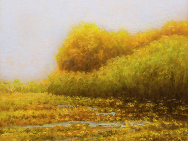 Art Print featuring the painting Morning in Texas - No 2 by Rob Blauser