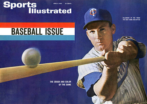 Magazine Cover Art Print featuring the photograph 1963 Mlb Baseball Preview Issue Sports Illustrated Cover by Sports Illustrated