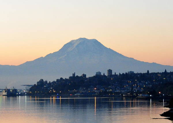 Rise and Shine in Tacoma, WA by Diane Lynch