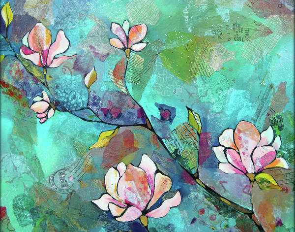 Magnolias by Shadia Derbyshire