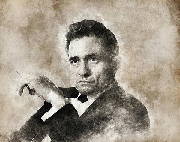 Johnny Cash by Lilia Kosvintseva