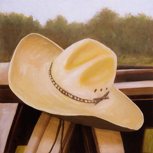 Art Print featuring the painting Hat by Rob Blauser