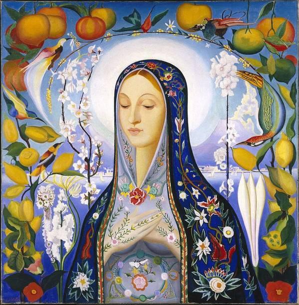 The Virgin,  Joseph Stella by Joseph Stella