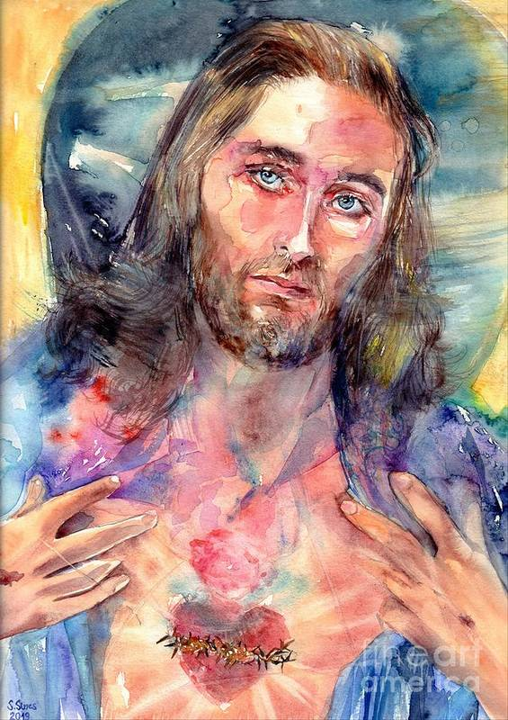 Heart Of Jesus by Suzann Sines