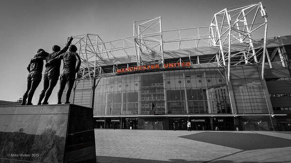 Manchester United Old Trafford 2 by Mike Walker