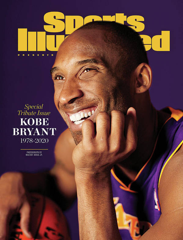 Kobe Bryant 1978 - 2020 Special Tribute Issue Sports Illustrated Cover Art Print