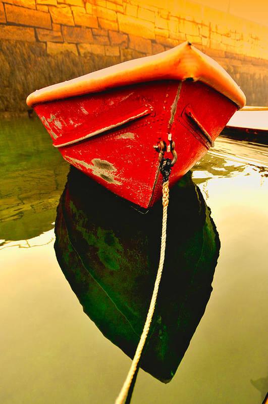 Red Boat by Tom Gresham