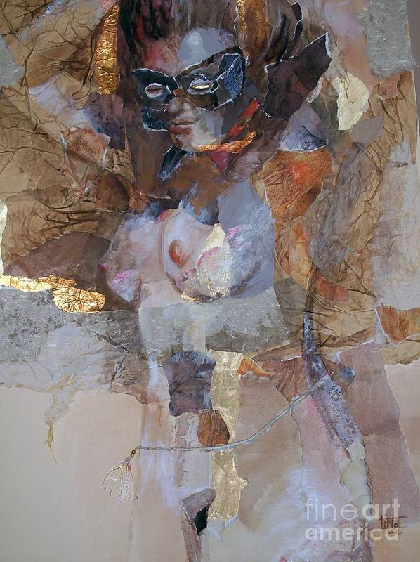 Figurative Art Print featuring the painting After the Show by Tina Siddiqui