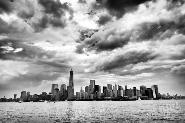 Island Of Manhattan 2013 Print featuring the photograph Island Of Manhattan 2013 by John Rizzuto