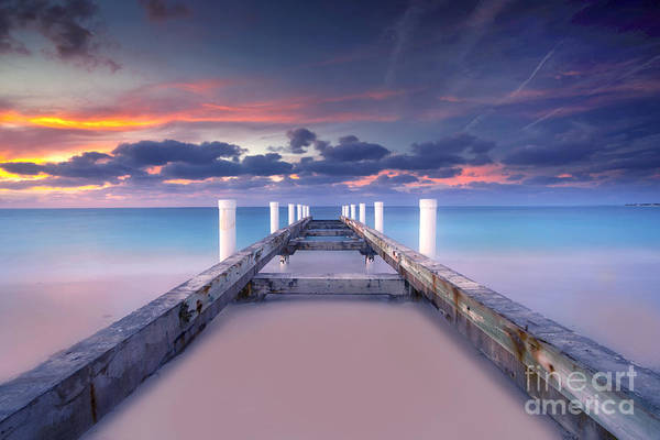 Beach Art Print featuring the photograph Turquoise Paradise by Marco Crupi