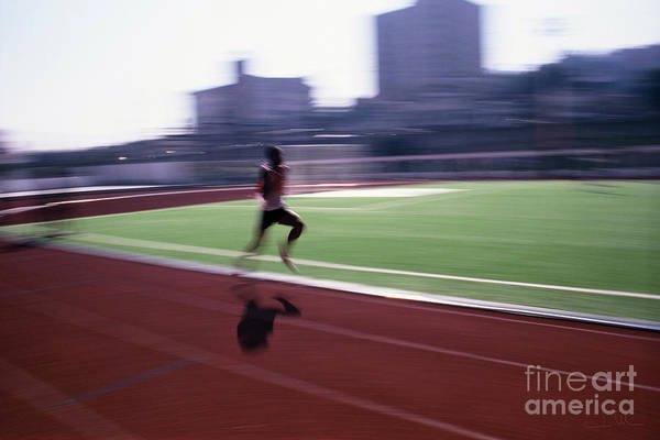 Athlete Art Print featuring the photograph Morning Practice by Carlos Alvim