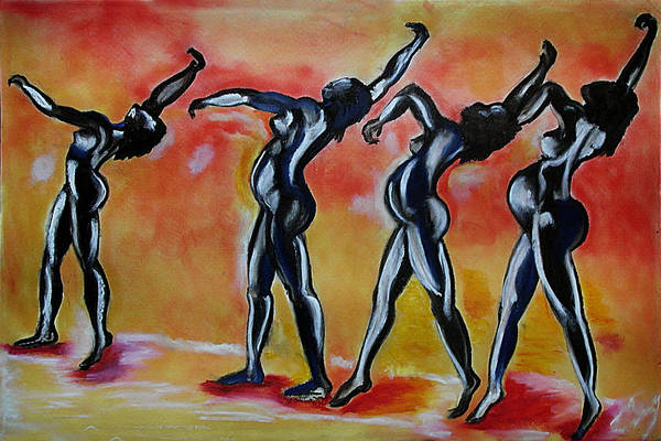 Art Print featuring the pastel The Majesty Of God. by Ebony Thompson