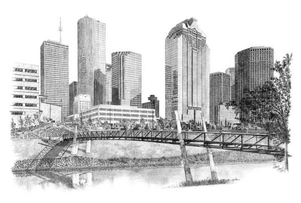 Houston Skyline by Andrew Aagard