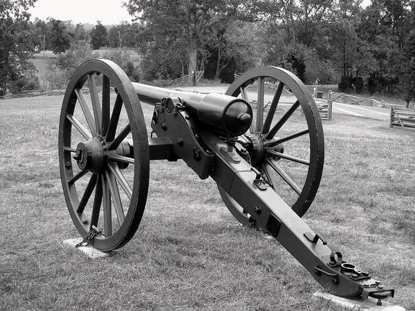 Civil War Cannon Art Print featuring the photograph Silent Echo Of War by Wallace Marshall