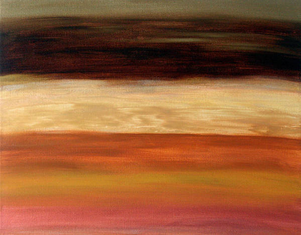 Fine Art Art Print featuring the painting Nothing More To Prove by Shiree Gilmore
