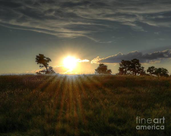 Sunset At Caumsett 2 by Dima James
