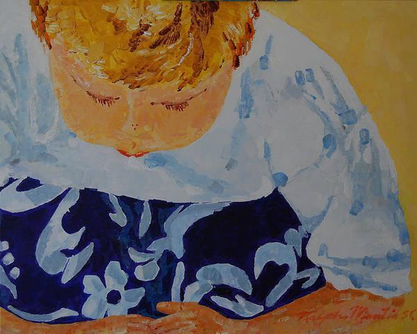 Beach Art Art Print featuring the painting Crab Watch by Art Mantia