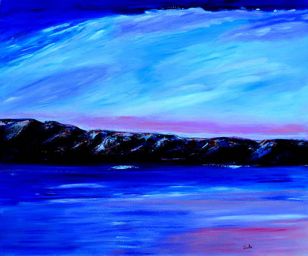 Caribbean Art Print featuring the painting Northern Range by Sula Chance