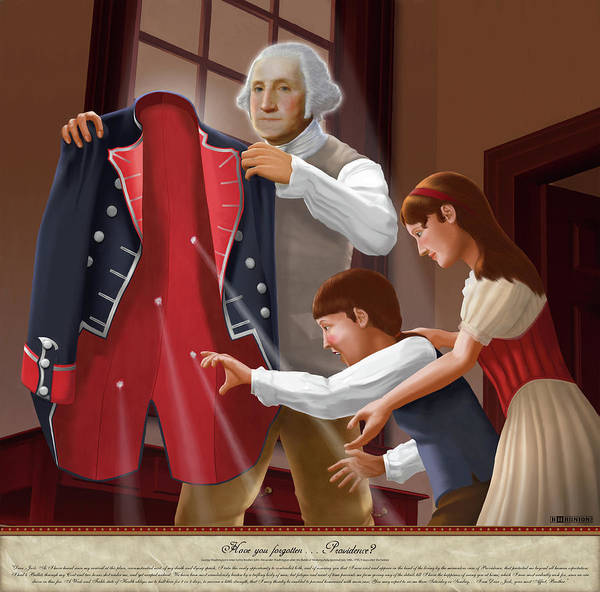 American Art Print featuring the painting Have You Forgotten Providence by Brett H Runion
