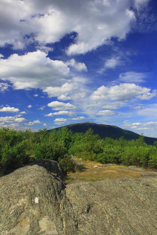 Gap Mountain Mount Monadnock by John Burk