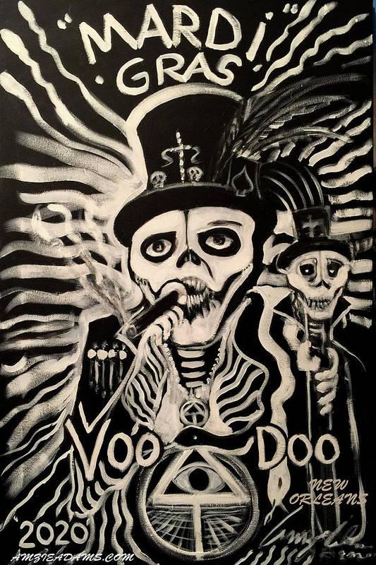 Mardi Gras 2020 Voodoo by Amzie Adams