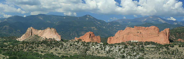 Garden Of The Gods Art Print featuring the photograph Garden Of The Gods by Christopher Larimore