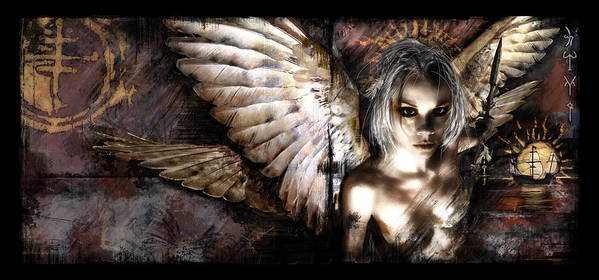 Fantasy Art Print featuring the digital art Dreamcypher by Mandem