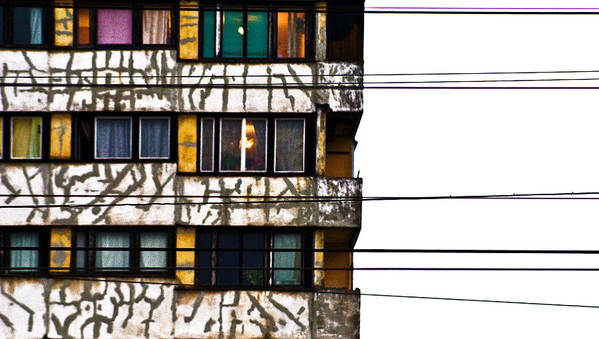 Lines Art Print featuring the photograph Lines by Vadim Grabbe