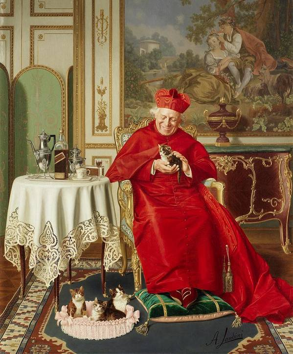 The Cardinal's Favorite by Andrea Landini