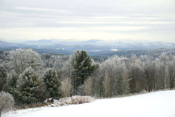 Winter Art Print featuring the photograph Mountains by Jessica Wakefield