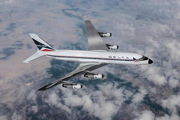 Delta's Speedy Convair 880 by Erik Simonsen