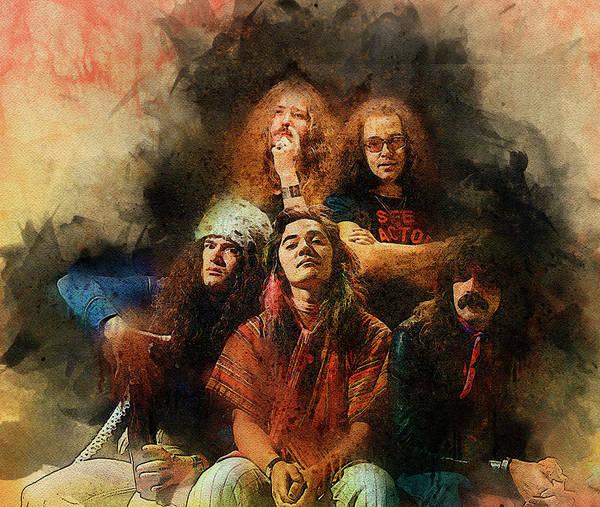 Deep Purple. Rock stars by Lilia Kosvintseva