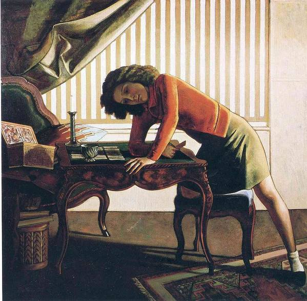 Patience by Balthus