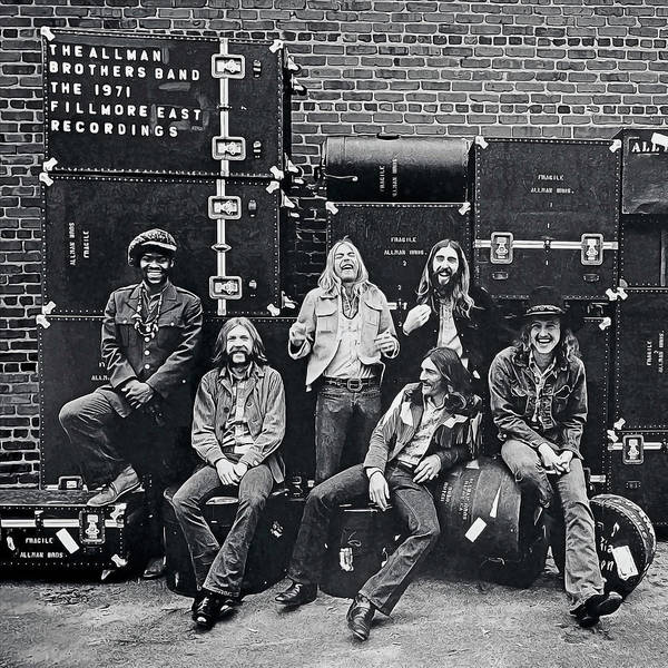 The 1971 Fillmore East Recordings The Allman Brothers Band Allman Brothers Poster Realistic Oil by Realistic Paintings