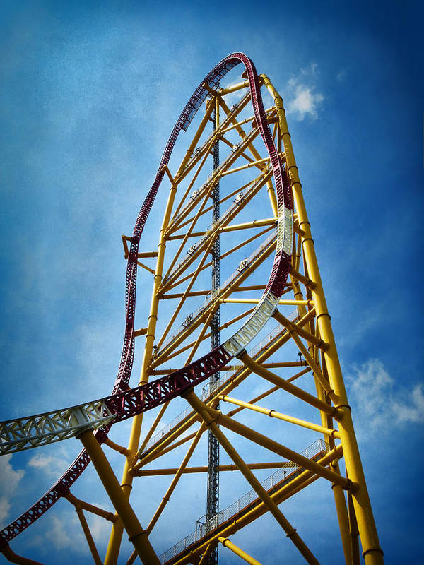 Cedar Point - Top Thrill Dragster by Shawna Rowe