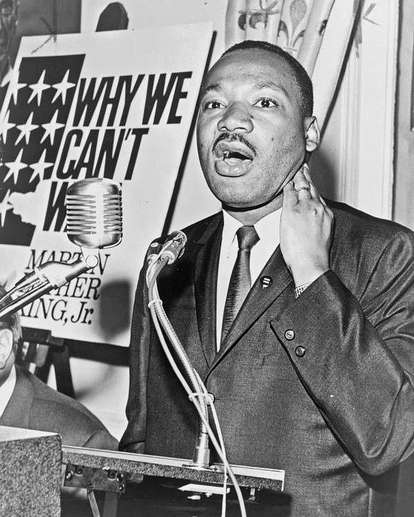 Martin Luther King Jr by Mountain Dreams