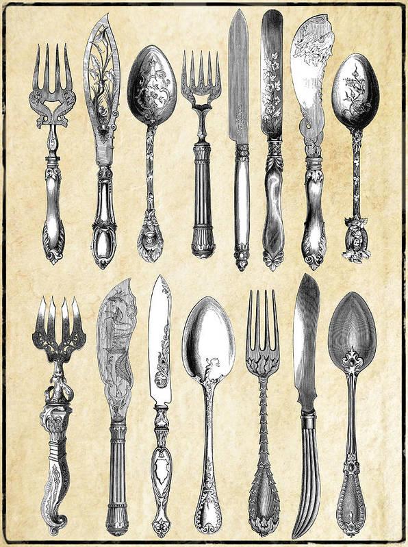 1851 London Silverware by Daniel Hagerman