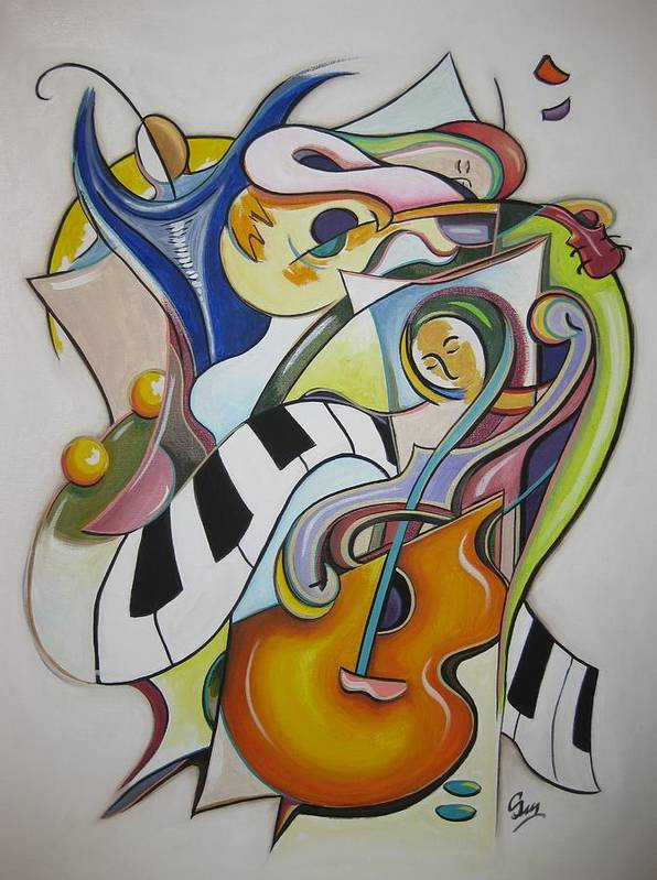 Trio by Suzanne Schmitt