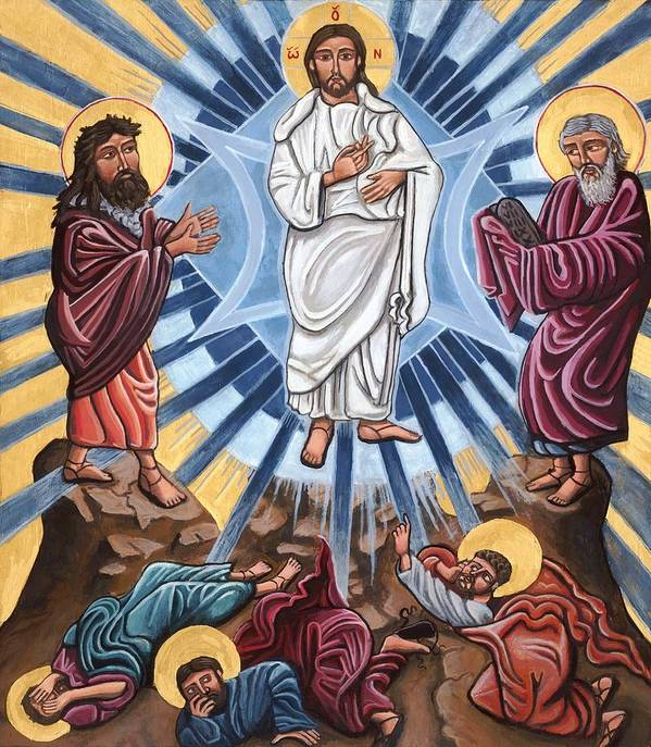 The Transfiguration by Kelly Latimore