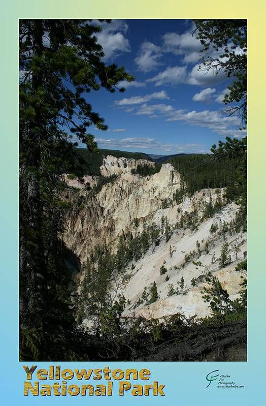 Yellowstone Art Print featuring the photograph Yellowstone Np 007 by Charles Fox