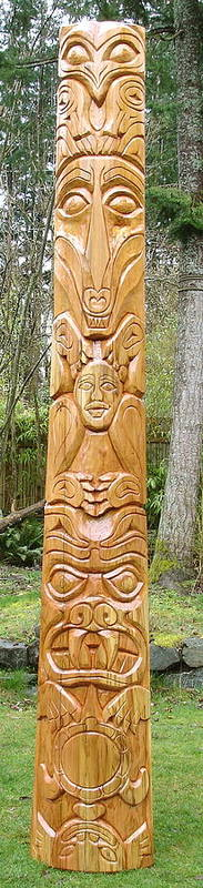Totem Art Print featuring the photograph To Come Of Age by Eric Singleton