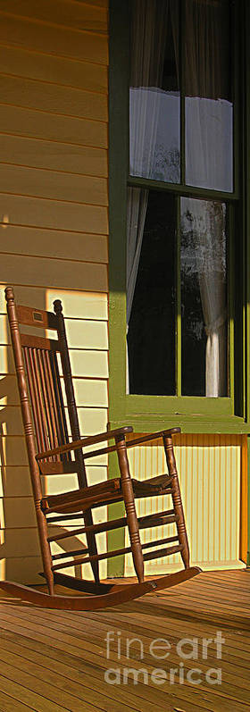 Art Print featuring the photograph Hot Seat II by Peggy Starks