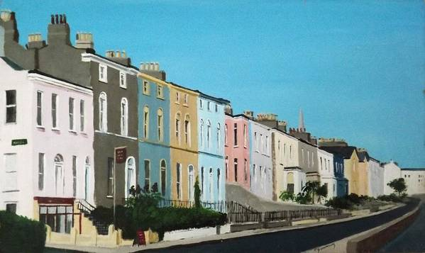 Windsor Terrace, Dun Laoghaire by Tony Gunning