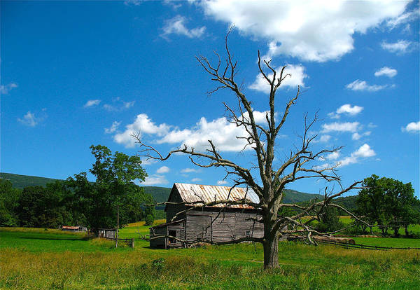 Landscape Art Print featuring the photograph Yesteryear by Charles Vogan