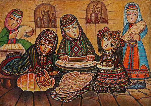 Tonri Lavash by Sevada Grigoryan