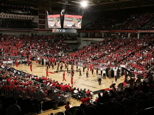 Cincinnati Art Print featuring the photograph Cincinnati Bearcats Fifth Third Arena by Replay Photos
