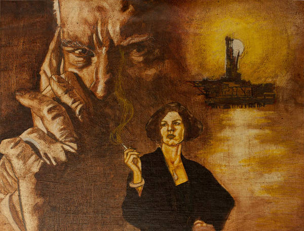 Oil Paint Art Print featuring the painting An Inconvenient Intrigue by Michael Facey