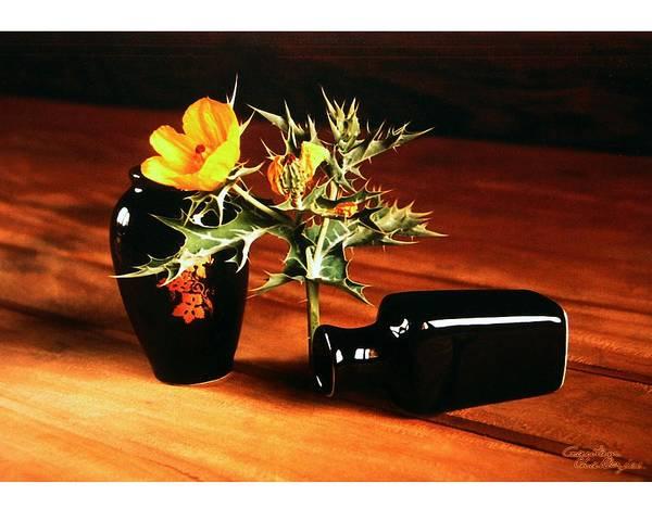 Vase Art Print featuring the photograph Still Life - 3 by Gautam Chatterjee