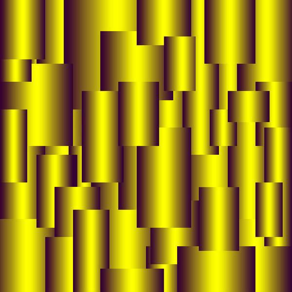 Gold Art Print featuring the digital art Gold Pattern B  by Raymond Youm